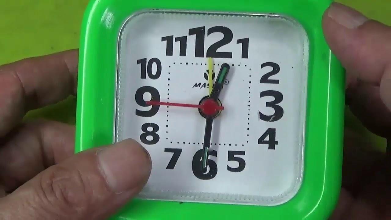 นาฬิกาปลุกราคา49บาท ผ่านมาตรฐาน CE Alarm clock, price 49 baht  CE