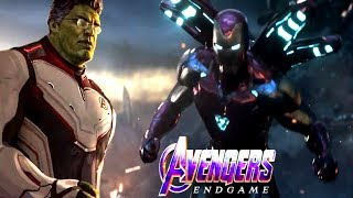 AVENGERS ENDGAME IRONMAN NEW SUIT & TO THE END TRAILER! PROFESSOR HULK IS IN ENDGAME THEORY!