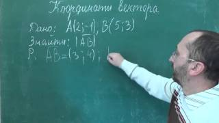 Урок 7 Знайти довжину вектора Тренувальна вправа