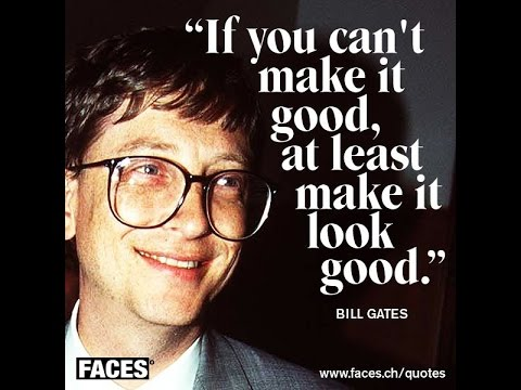 BILL GATES--Happy 60.th Bday Mr.Windows!The Richest man on earth...