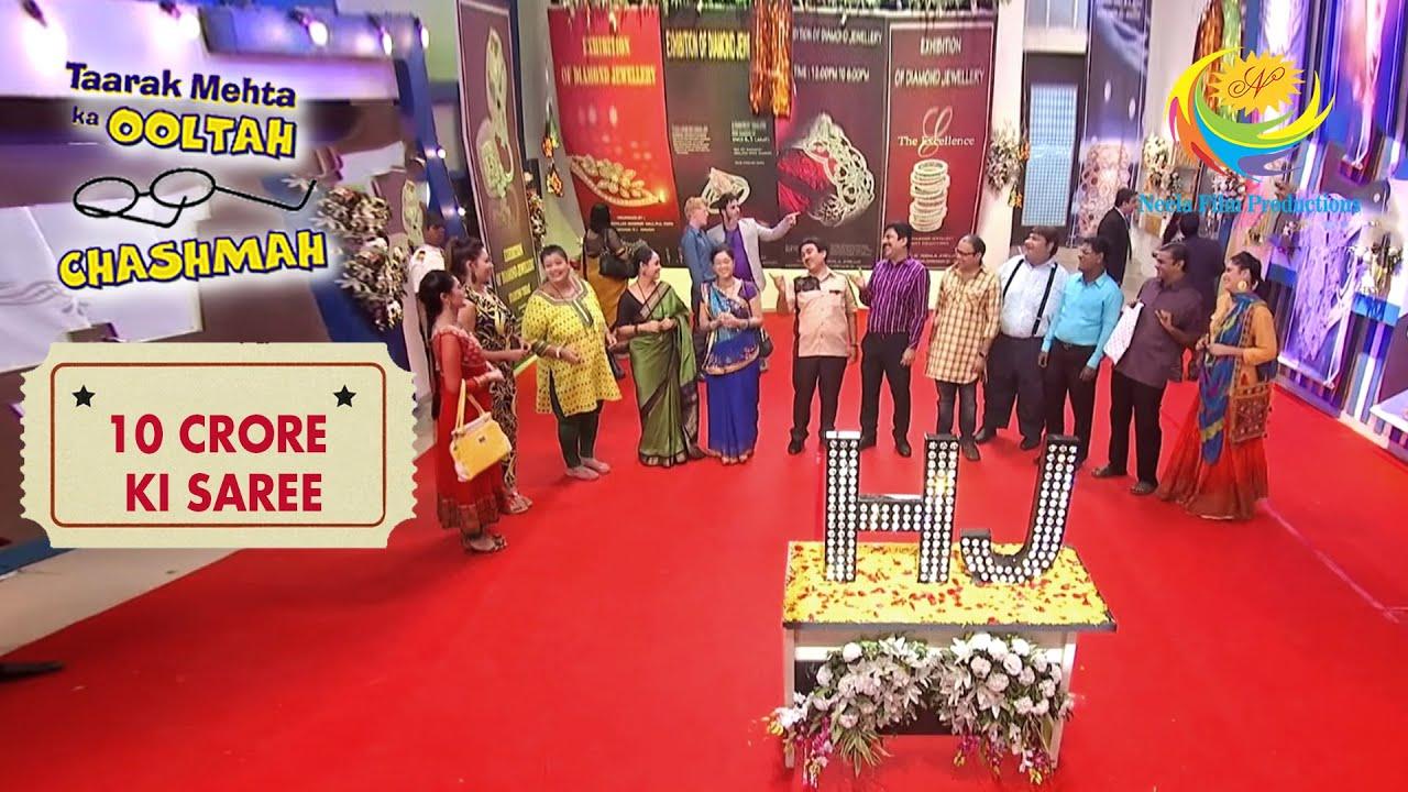 All The Gokuldham Residents Thank Jethalal | Taarak Mehta Ka Ooltah Chashmah | 10 Crore Ki Saree