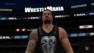 WWE 2K16: Roman Reigns Entrance (WrestleMania 31)