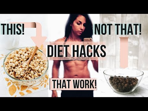 5 DIET HACKS THAT ACTUALLY WORK! Healthy Weight loss TIPS + RECIPES ANYONE Can Do!
