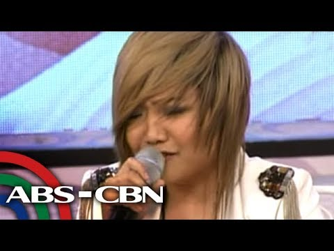 Charice performs rendition of 'Pusong Bato'