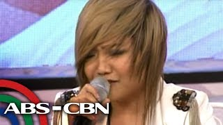 Charice performs rendition of
