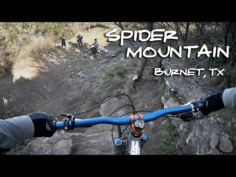 Spider Mountain Bike Park: First Blind Runs - Mountainbike Austin, TX