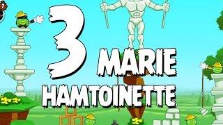 Angry Birds Seasons Marie Hamtoinette  1-3 Walkthrough 3 Star