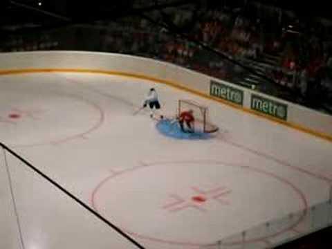HIFK vs. IceBreakers, Peter Forsberg penalty shoot-out