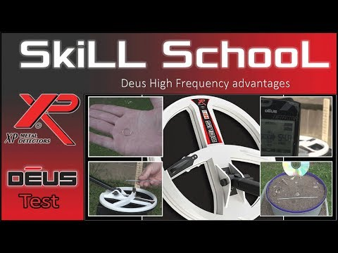 XP Deus High Frequency coil some simple tests