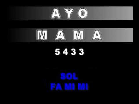 NOT LAGU - AYO MAMA - LAGU DAERAH MALUKU