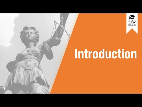 Commercial Law - Introduction