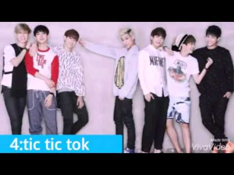 Top 10 got7 songs - YouTube