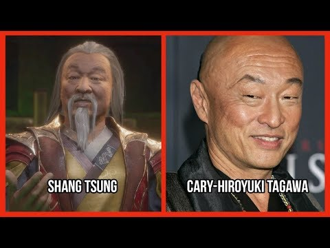Characters And Voice Actors - Mortal Kombat 11