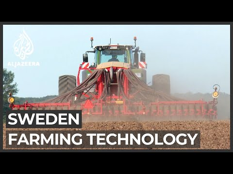 Sweden farmers get help from space technology