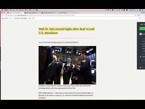 (출근길 시황) 0123 마켓데일리 - 미국 셧다운 조기 종료, 중국증시의 불활 신호