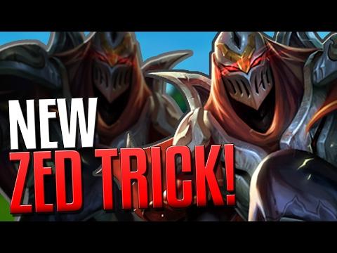 NEW ADVANCED ZED TRICK!! | The Hidden Shadow - League of legends