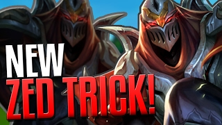 NEW ADVANCED ZED TRICK!! | The Hidden Shadow - League of legends