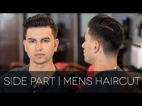 Modern Side Part Men's Haircut