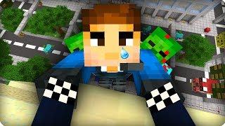 Главное не смотреть вниз [ЧАСТЬ 38] Зомби апокалипсис в майнкрафт! - (Minecraft - Сериал)