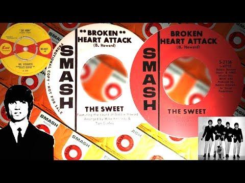 The Sweet - Broken Heart Attack [2:42] [USA Smash Records S-2136] 1968