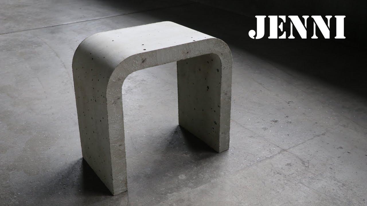 design concrete chair & design concrete chair - YouTube