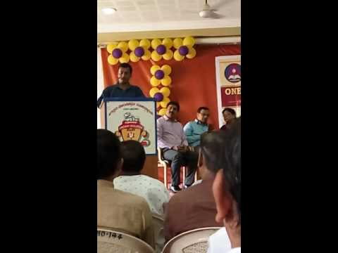 Babar Ali 's speech in JT College Gadag on 29th.