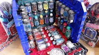 DXパンドラボックス完成!フルボトル60本収納可能か検証!北都 & 西都 DXパンドラパネル ブルー/レッド レビュー!スパイダークーラーに変身!スパイダー/冷蔵庫フルボトル 仮面ライダービルド