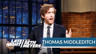 Thomas Middleditch Takes Seth Inside the World of His German Instagram Character Friedrich
