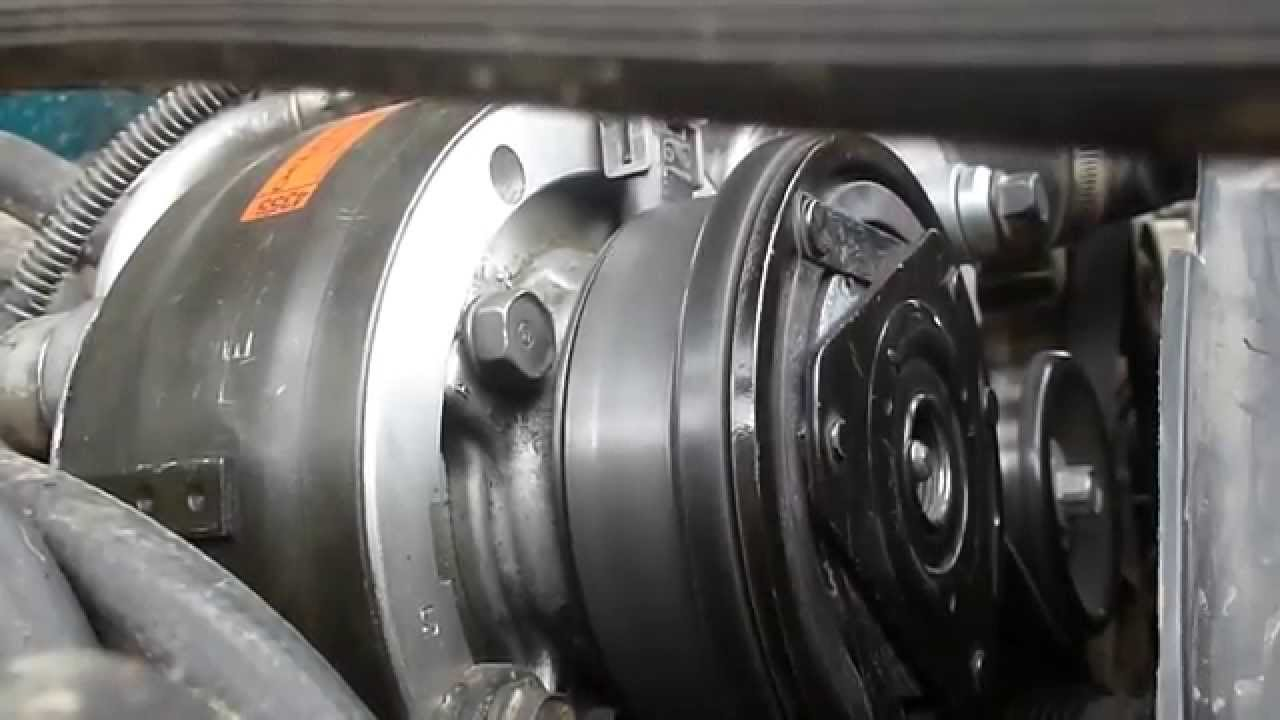 Chevrolet S10 A/C compressor clutch noise