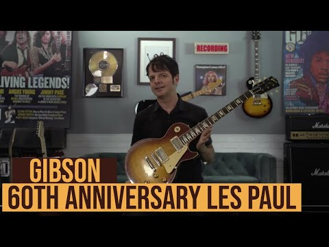 Watch Paul Riario Demo the Gibson 60th Anniversary 1959 Les Paul Standard | Guitarworld
