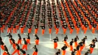 رقص فى السجون على اغنية مايكل جاكسون اكثر من رائع
