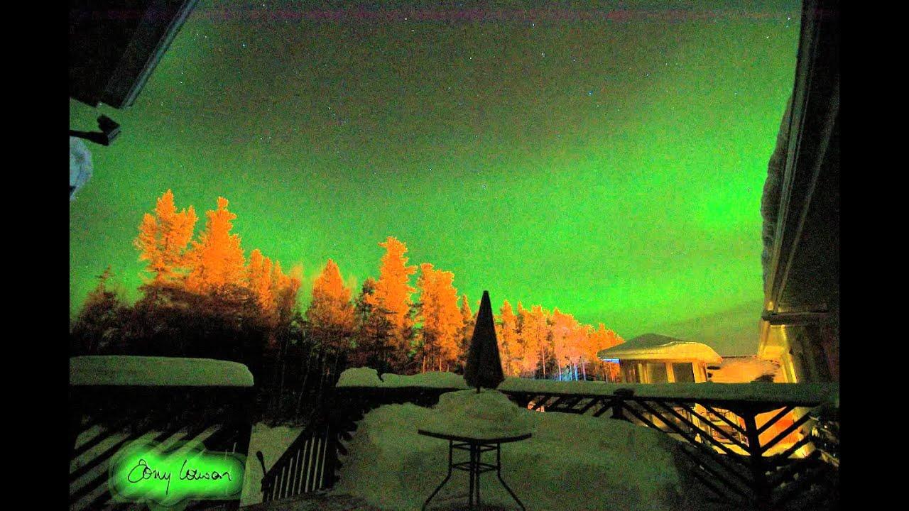 Northern Lights Gillam Manitoba Feb 18th Mov Youtube