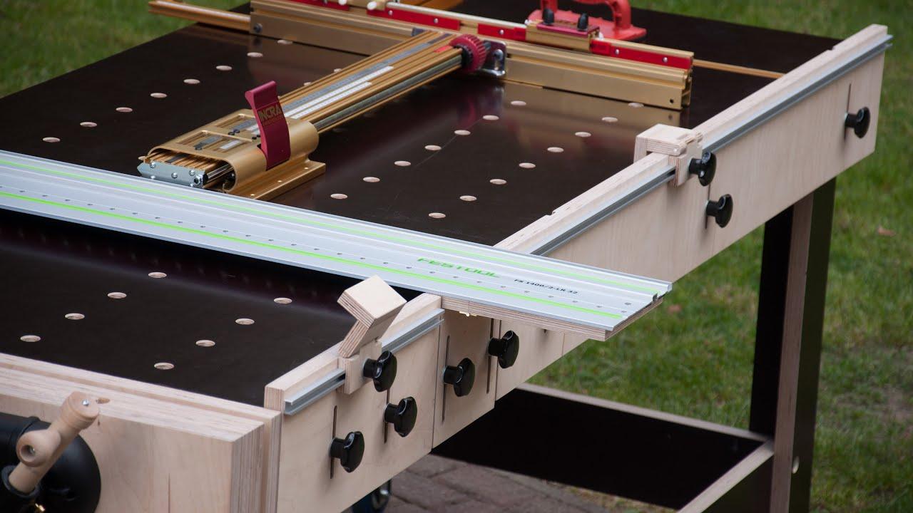 Multi-Werkbank - Teil 4 - Multi-Funktions-Tisch / MFT / Frästisch selber bauen