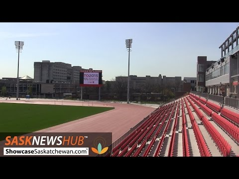 Finishing touches added to Pan Am track  field stadium
