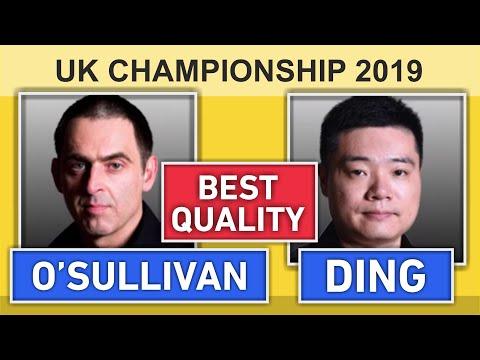 Ronnie O'Sullivan v Ding Junhui | UK Snooker Championship 2019 HD 50 fps