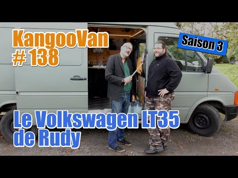 Vlog Kangoovan 138 - Le Volkswagen LT35 Aménagé De Rudy