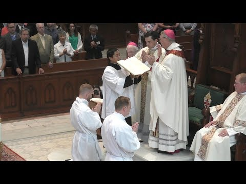 Diaconate Ordination of Chris Hassel and Patrick May