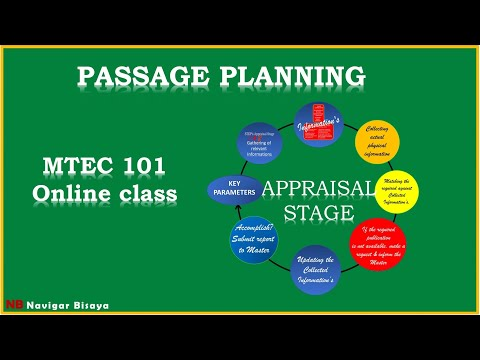 Appraisal Stage Passage Planning