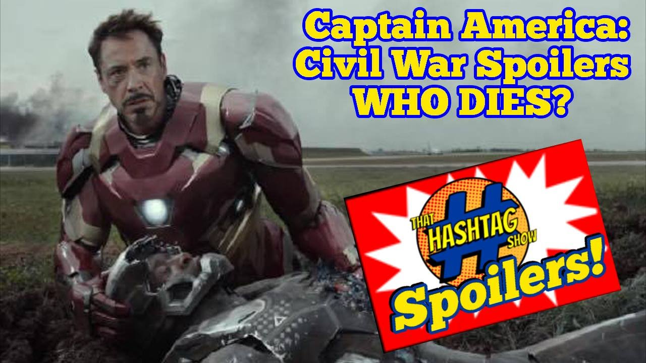 Captain America: Civil War Spoilers  That Hashtag Show  Youtube