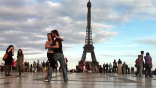 Fernando y Valeria tango en Paris