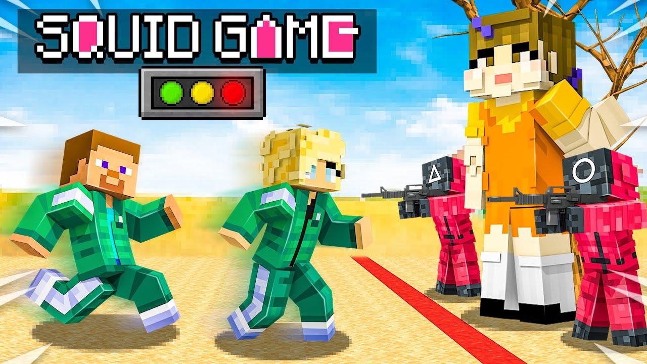 Download I Survived 100 Days in SQUID GAME! - Minecraft