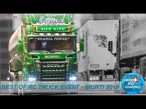 BEST OF RC TRUCK EVENT 2018 IN MURI, SWITZERLAND