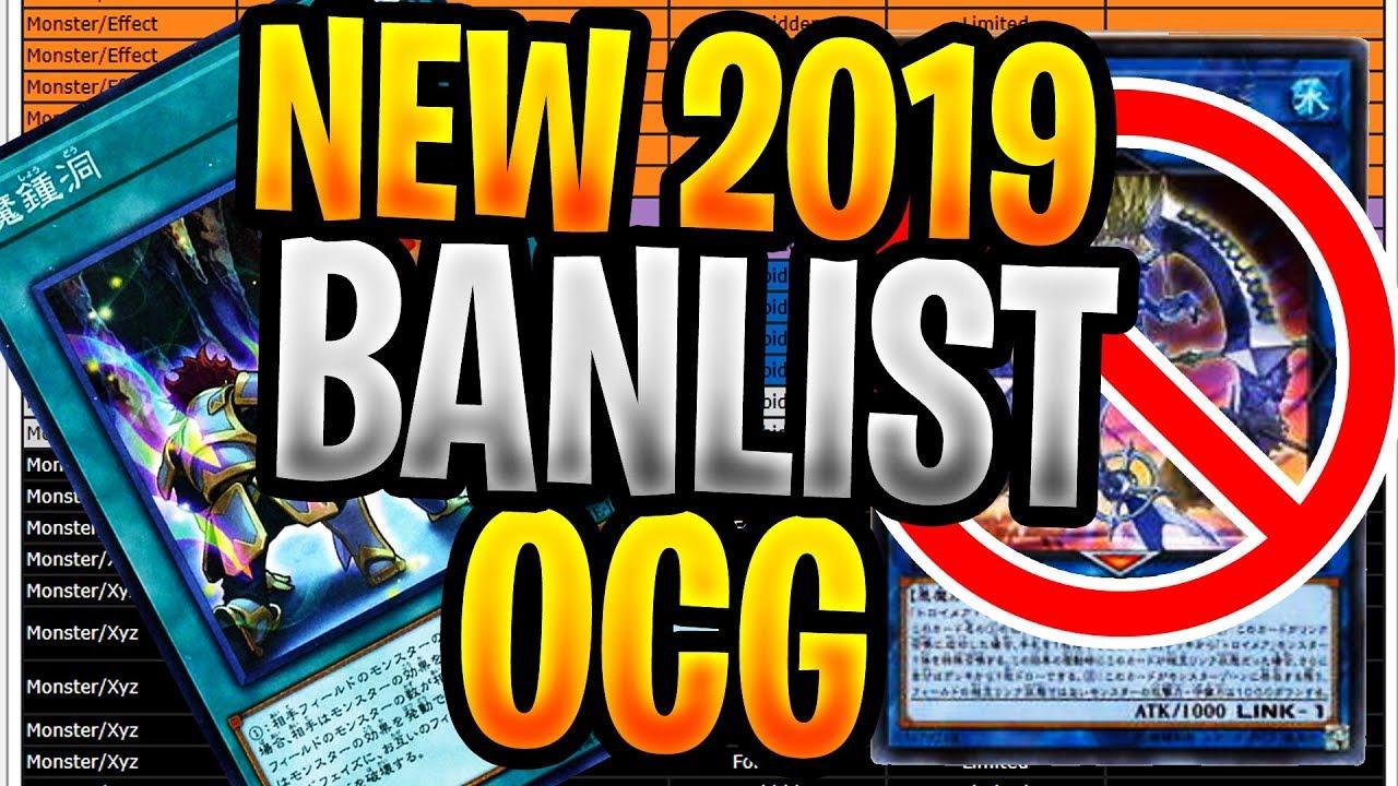 New July 2019 Yugioh BANLIST 2019 OCG! MYSTIC MINE HIT! Mermaid Banned! New  Banlist 2019 Yugioh
