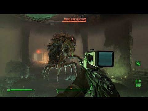 Fallout 4 - Massachusetts State House & Killing The Mirelurk Queen