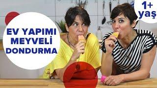 Ev Yapımı Dondurma Nasıl Yapılır (ÇEKİLİŞ) | Bebek Yemekleri (+1 Yaş)
