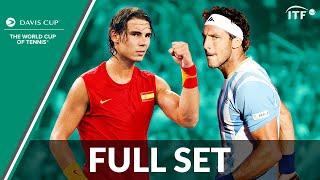 Rafael Nadal v Juan Mónaco | Full Set | 2011 Davis Cup