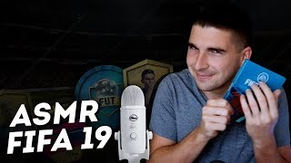 ASMR FIFA 19: ПАКИ И ДРАФТ