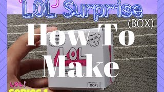 TUTORIAL HOMEMADE LOL SURPRISE | ENG + IND Subtitles