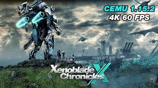 CEMU 1.15.2 - Over An Hour of Xenoblade Chronicles X 4K 60 FPS