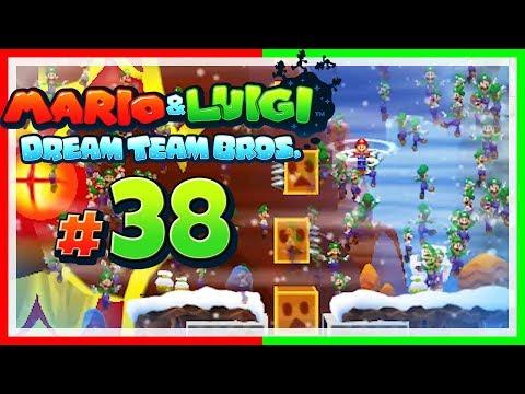 MARIO & LUIGI: DREAM TEAM BROS. # 38 💤 Eruptionen provozieren! [HD60]